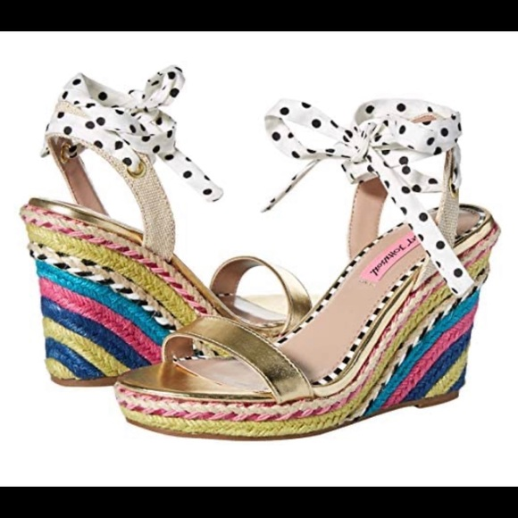 Betsey Johnson Shoes | Colvin Wedge
